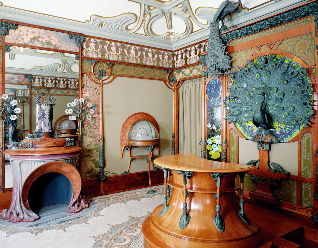 Paco escriv muebles el art nouveau arquitectura for Decoracion casas 1900