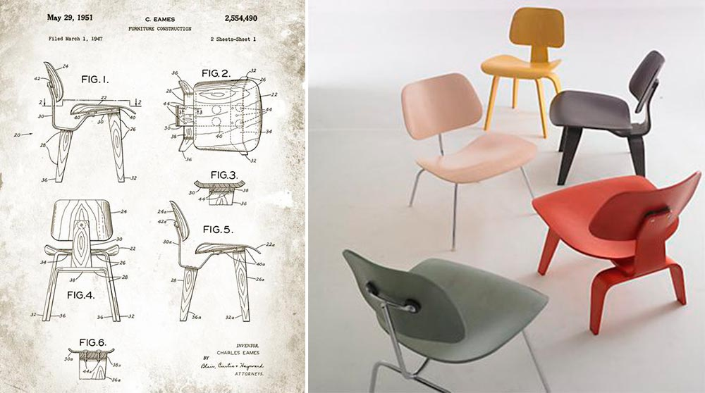 sillas-lcw-dcw-dcm-charles-eames